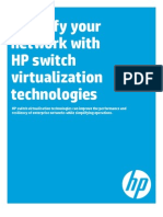 Simplify With Hp Switch Virtual Ization White Paper