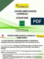 Promoción Empleados Correos Vodafone