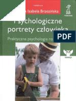 Brzezińska Anna - Psychologiczne portrety człowieka