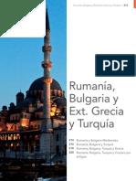 Países del Egéo, Bulgaria, Rumanía, Grecia y Turquía. 2013 Mapaplus