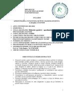 A4 Atletism Specializare 2 - An III. Sem. 5 2010-2011 - Bogdan Vasile