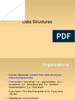 Data structures course 1