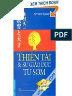 Kimura Thiên tài và sự giáo dục từ sớm