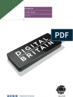 Digital Britain Interim Report