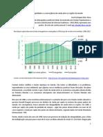 A redução das desigualdades e a convergência de renda entre as regiões do mundo