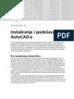 Instaliranje i Podesavanje AutoCAD-A