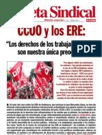 Gaceta Sindical (Edicion Especial n 147) CCOO y Los ERE