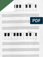 Piano Und No Ten Linie