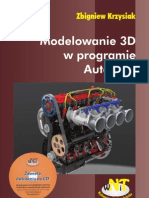 Modelowanie 3D w Programie AutoCAD - Zbigniew Krzysiak WNIT