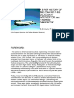 Convair F-106 Development History-WD