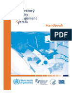 WHO Laboratory Quality Management System Handbook