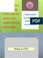 Interfecial transition zone of concrete