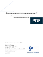 Masterscriptie Functieleer Merkenrecht Tomas Weermeijer VU 2013