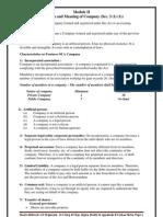 Business law module