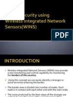 Border Security Using Wireless Integrated Network Sensors(WINS)