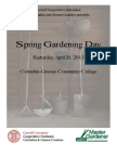 Spring Gardening Day Class Descriptions