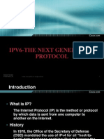 Ipv6-The Next Generation Protocol