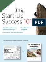 Successful Entrepreneurship 101