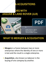 m&a of Tatamotors and Jaguars