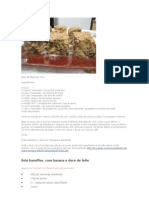 Receita de Doces Portugueses