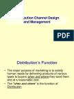 Distribution Channel and Design Management