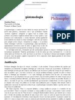 Crítica_ Problemas da epistemologia
