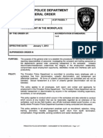 Princeton Police Standard Operating Procedures