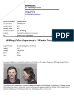 Wanted Person of the Week-Espinosa