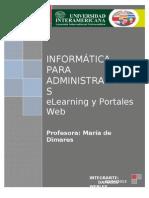 ELearning y Portal Web-------.doc