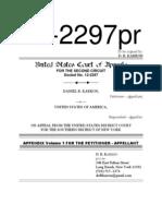 12-2297 Karron CoA Appendix v01