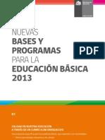 Folleto Bases 2013