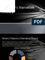 Todorov's Narrative Theory