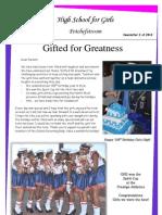 Newsletter 2 - 20 March 2013