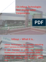 Case Study on Infosys Technologies