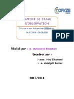 Rapport de Stage Coficab 1