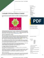 Corriendo GNU_Linux Debian en Android « TheCoffeMaker