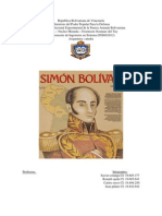 Hemeroteca Sobre El Final de Simon Bolivar