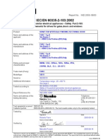 Test Report NEMKO Theo Iec 60335-2-103