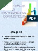 Comunicarea. Managementul conflictului