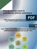 Impacto Estatuto Contratacion Estatal Decreto 0734 de 2012