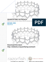 Quantifying Outreach - Michael King
