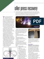 Roller Press Hardfacing Job