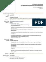 IVSeminario PDCE Programa 2012