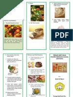 Leaflet Diet Gagal Jantung