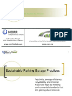 Sustainable Practices Parking Structures