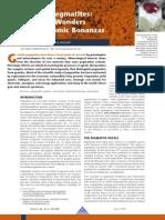 1london Granitic Pegmatites- Scientific Wonders and Economic Bonanzas
