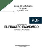 Manual 1 + 2 de Economia de Proceso