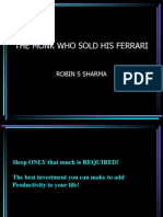 The Monk who sold his Ferrari.ppt