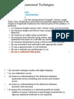 Section I 2 Measurement Techniques