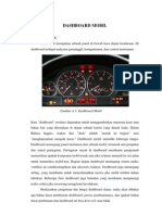 Paper Dashboard Mobil